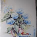 179. Aquarel afm. 76 x 56