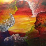 4. ' Vergezicht' acryl