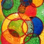 41. 'Cirkels' ecoline- inkt