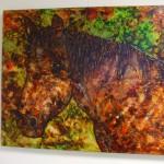 49. 'Paard' ecoline- inkt