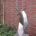 5. 'Ontwerp voor rotonde of plein' materiaal RVS