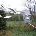 5. 'Vogelverschrikker' materiaal van RVS (5)