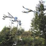 9. 'Vogelverschrikker' materiaal van RVS (9)